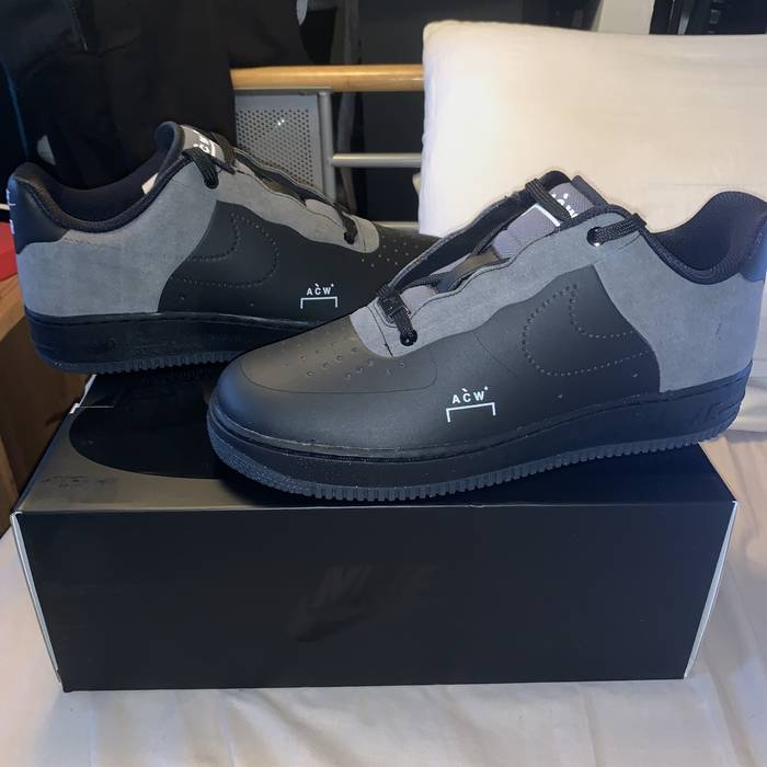 05b75edc269d Nike Nike x A Cold Wall Air Force 1 Black Size 9.5 - Low-Top ...