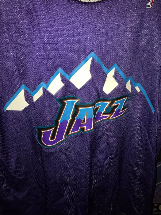 Nba NBA Jazz Reversible Practice Jersey 90s Don Alleson Athletic ... cee2290b3