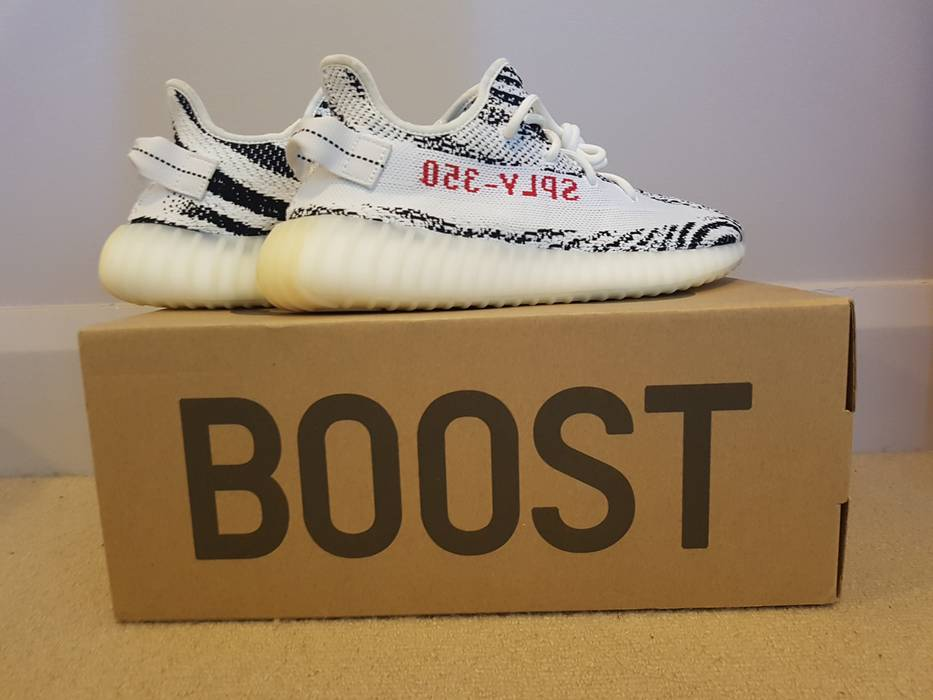 451c717e3b685 Adidas Kanye West Adidas Yeezy Boost 350 V2 Zebra Size U.S 9 Size 9 ...
