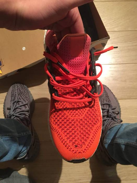 da3ff8dbf7096 Adidas Ultra Boost 1.0 Solar Red Size 10.5 - Low-Top Sneakers for ...
