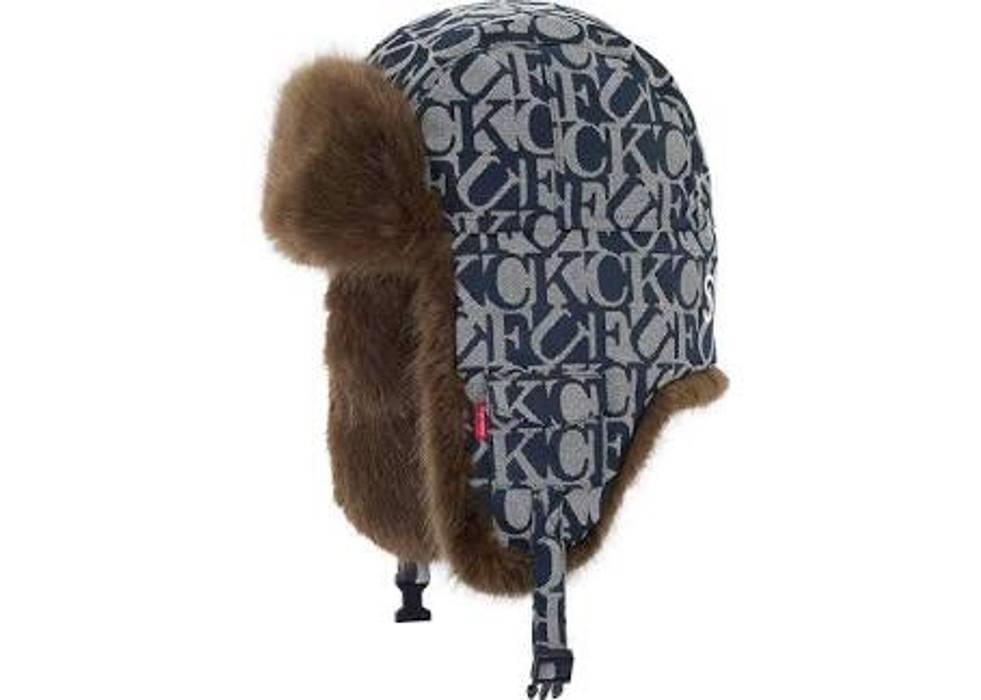 Supreme Supreme Fuck Jacquard Blue Size one size - Hats for Sale ... d02413a12f22