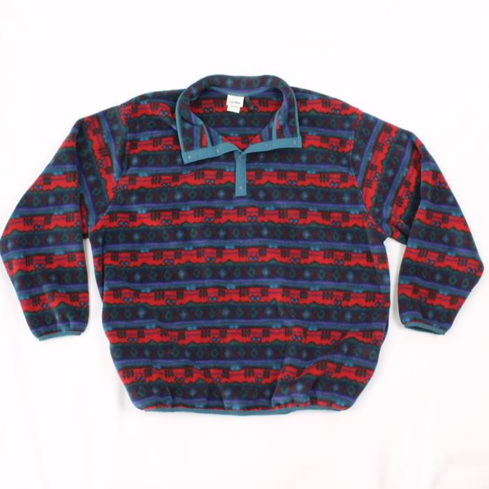 Vintage Vintage Ll Bean Sweater Fleece Pul Lover Men Size Xxl Tall