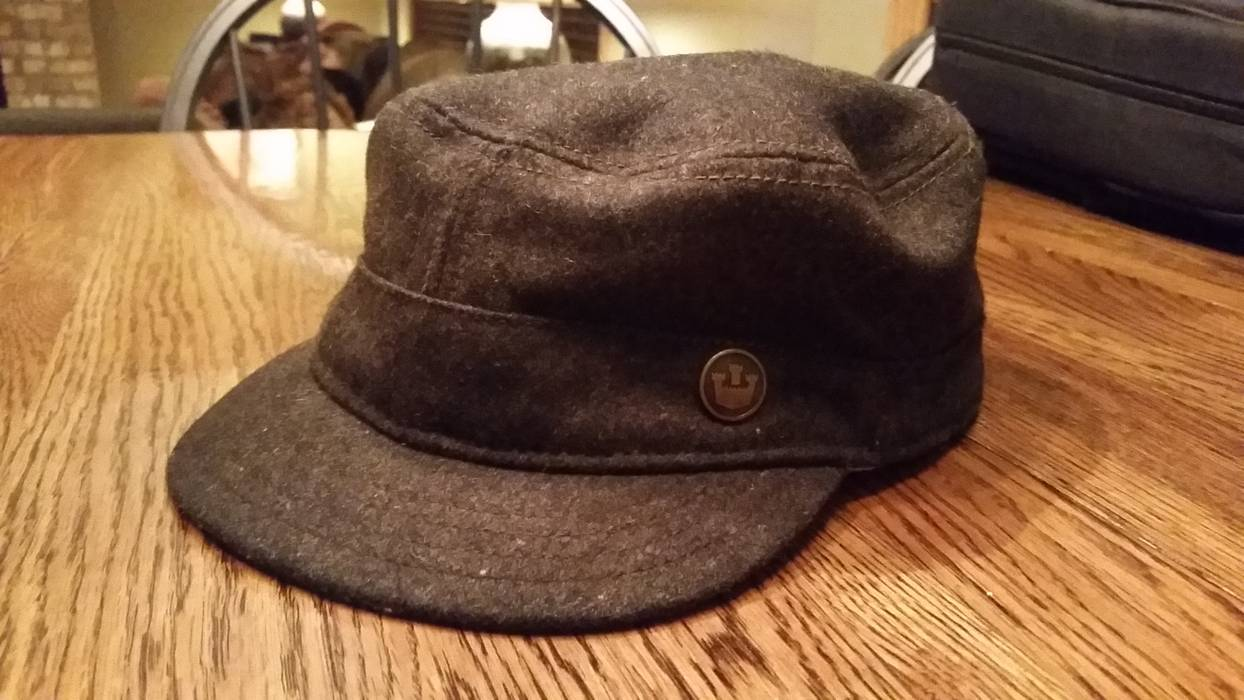 Goorin Bros Grizzly Bear Wool Cadet Cap Size One Hats For 9152a0a28fd4