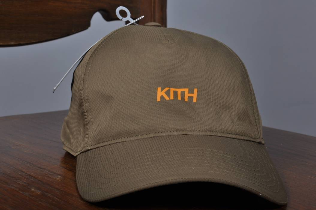 e665ed31ae2 Kith Nyc. NWT Men s KITH X ADIDAS Ronnie Fieg Baseball Cap Polyester  Weatherproof Olive