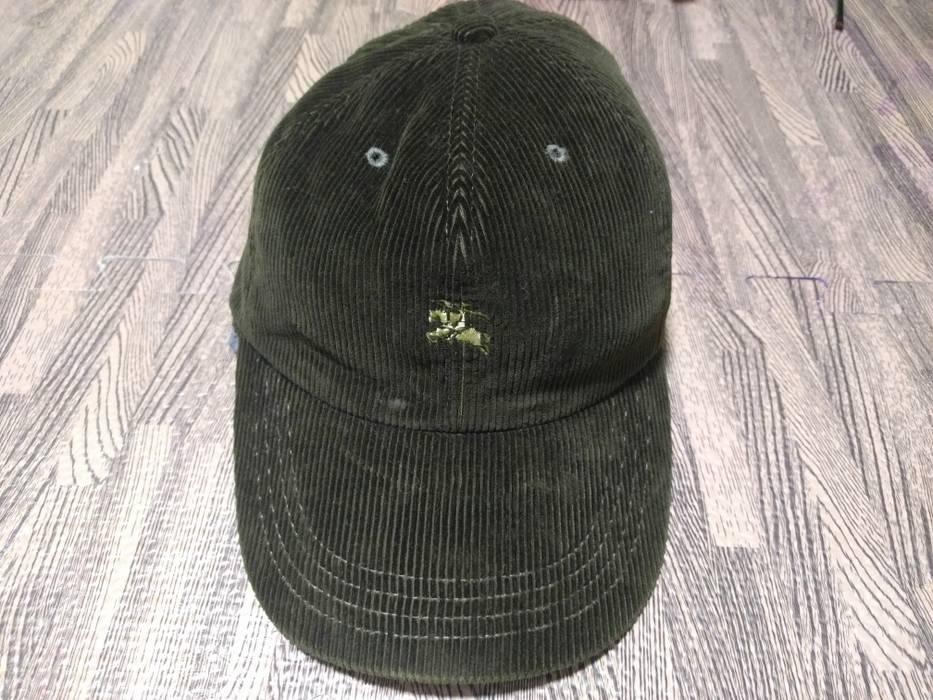 Burberry Burberry london corduroy fabric strapback cap hat Size one ... 2283e963ba0