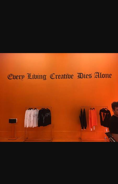 Every Living Creative Dies Alone Tee