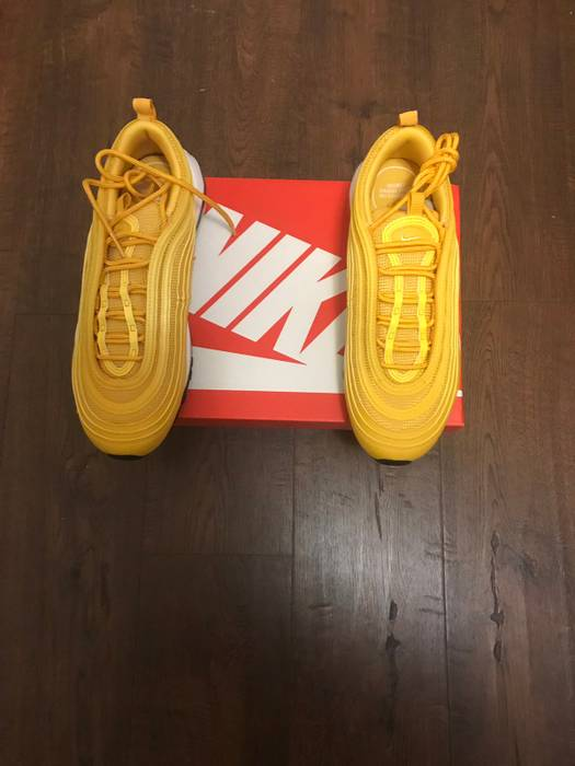 """Nike WMNS Nike Air Max 97 """"Mustard"""" Size 8 - Low-Top Sneakers for ... 94767cf06"""