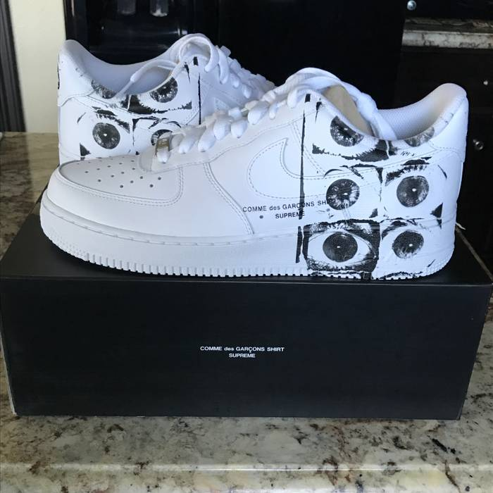Supreme Supreme X CDG Air Force 1 Size 9.5 - Low-Top Sneakers for ... c4adf9d32