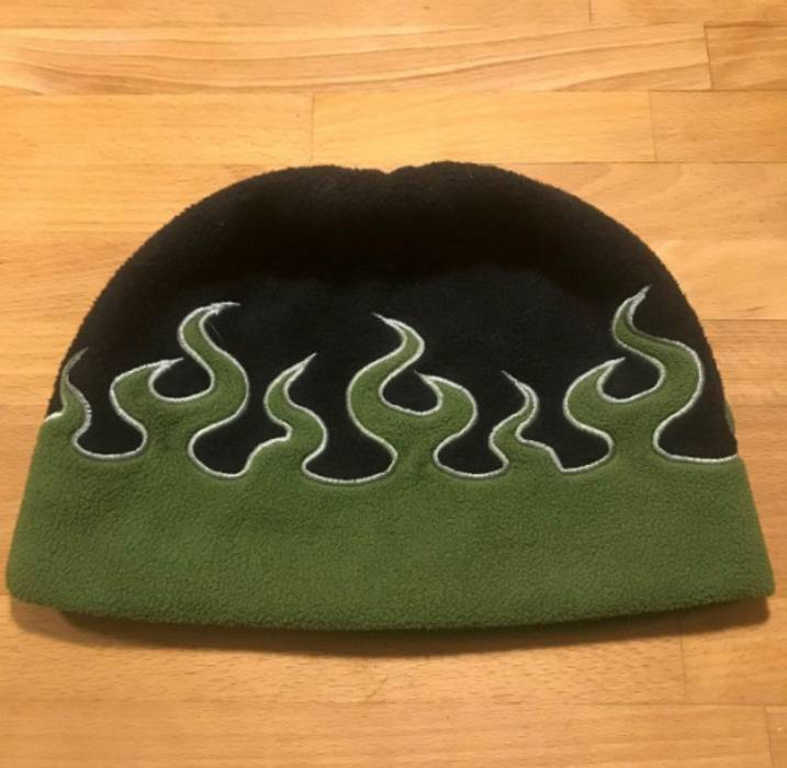 Vlone ASAP Illz Disco Inferno Greed Flames Beanie A AP Mob Size ONE SIZE 74b1c9ae3eec