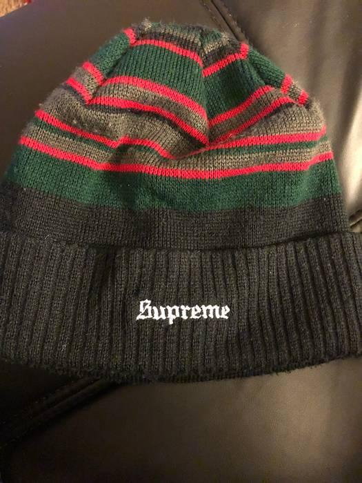 5b567337d7417 Supreme Supreme Multi Stripe Beanie Cap Black Size one size - Hats ...