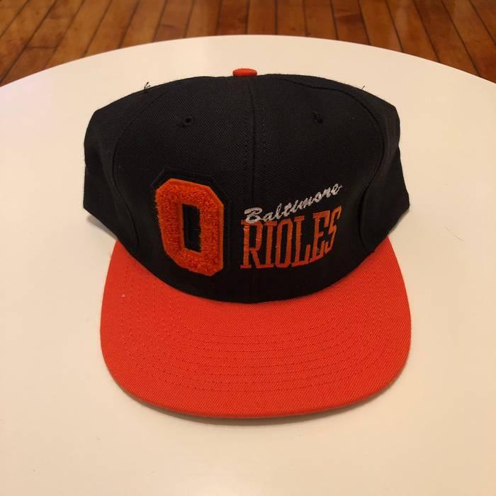 Vintage Vintage 90s Baltimore Orioles Snapback Hat Size one size ... 07560649dab