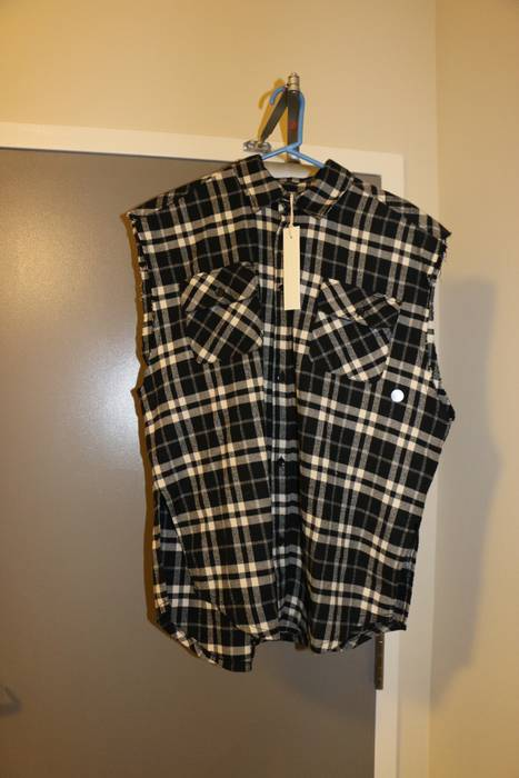 2f95cd170352 Pacsun FOG black cut off flannel Size m - Shirts (Button Ups) for ...