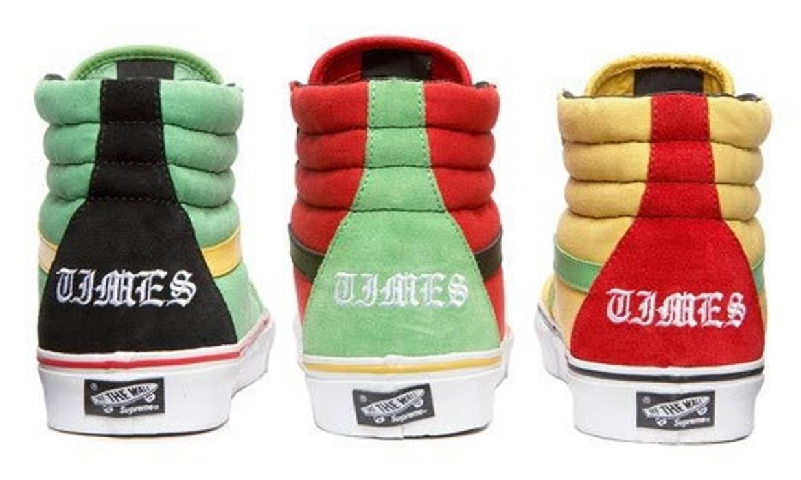 79bcdd919a Supreme Supreme X Bad Brains Vans Sk8 Hi Size 9.5 - Hi-Top Sneakers ...