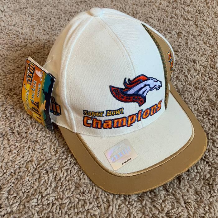 Vintage Super Bowl 33 Denver Broncos Hat Size one size - Hats for ... 9c852442d