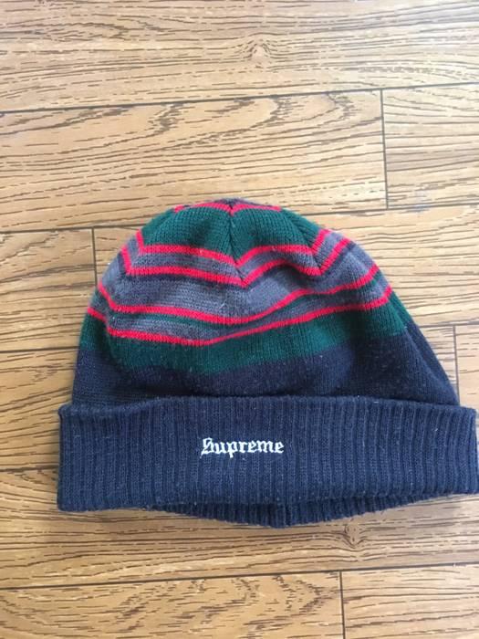 Supreme Supreme Beanie Gucci Colorway Black Green Red Size one size ... 90badd52c8f