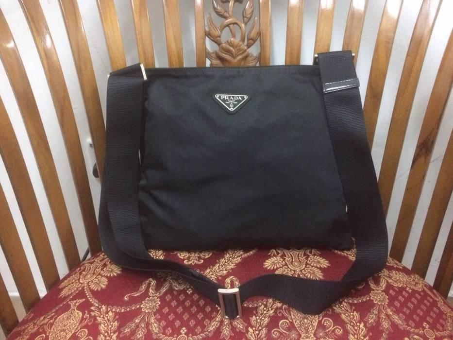 43c53e45ff8a Prada Prada Black Nylon Flat Cross Body Shoulder Bag Size one size ...