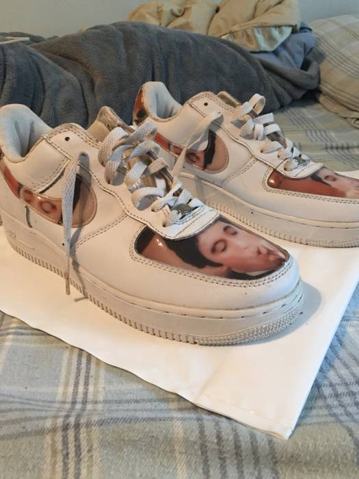 8719e2abc017fd Nike Nike Air Force 1 AL PACINO SCARFACE SHOES Size 10.5 - Low-Top ...
