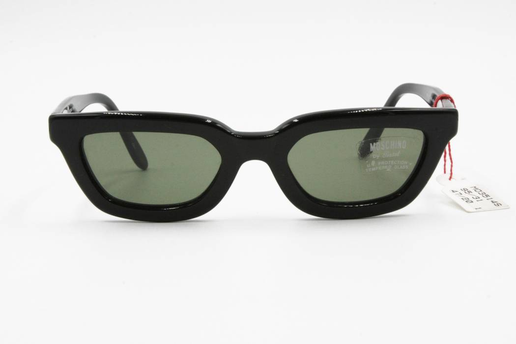 4b3ae9ef64 Persol Moschino Persol 3514-S 95 31 black thick cat eye sunglasses ...
