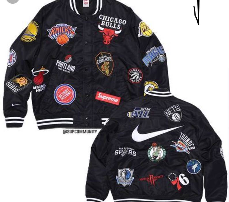 Supreme Supreme Nike NBA Warmup Jacket Size s - Light Jackets for ... 81fb7cc85