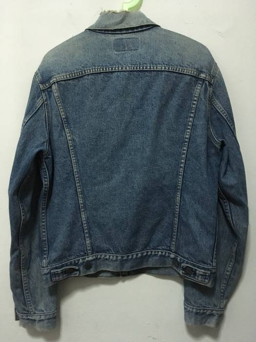 Vintage Vintage Denim Jackets Levis Button 527 Not Supreme Off White