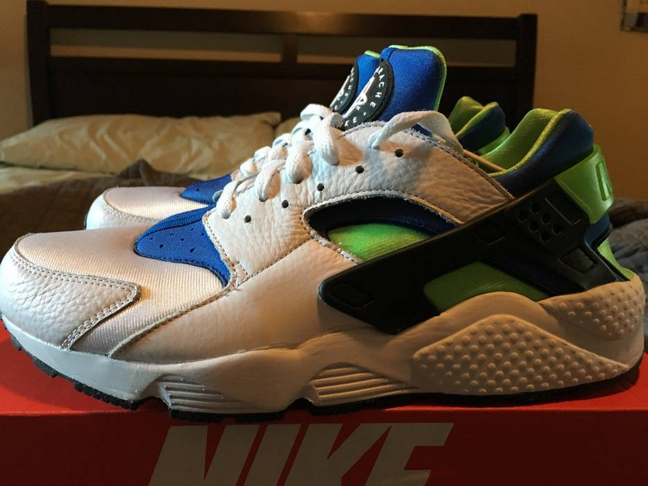 Nike Air Huarache Scream Green Size 11.5 - Low-Top Sneakers for Sale ... 96cca994e