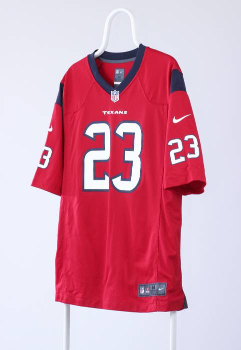 7e4486c03fe Nike Mens NIKE Arian Foster  23 Players Houston Texans Team NFL Jersey Size  US M
