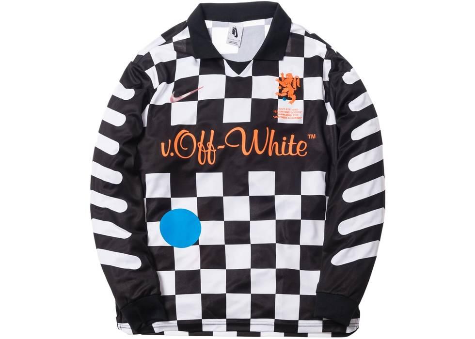 e37022ddf Nike Virgil Abloh Off-White Nike NRG Football Soccer Jersey Away Size US M