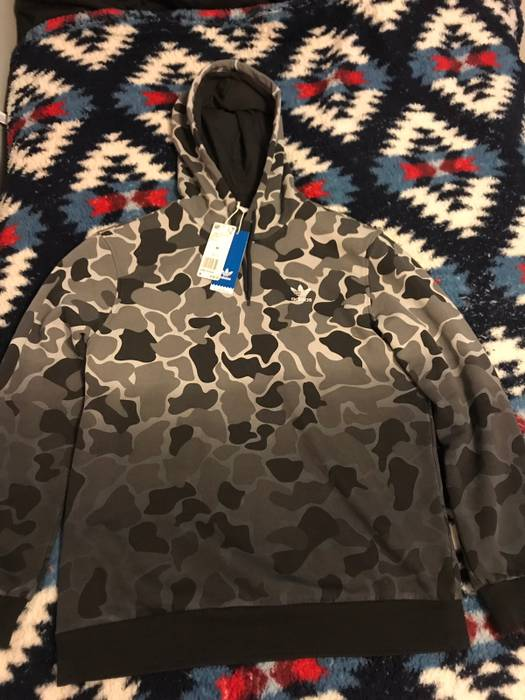 Adidas Adidas Camo Dip Dyed Hoodie Size m - Sweatshirts   Hoodies ... 5d54a9a56d
