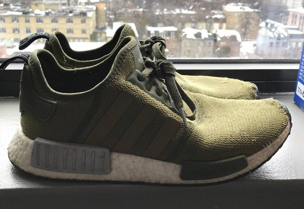 a4bb9691055cc Adidas Kaki Adidas NMD Size 10 - Low-Top Sneakers for Sale - Grailed