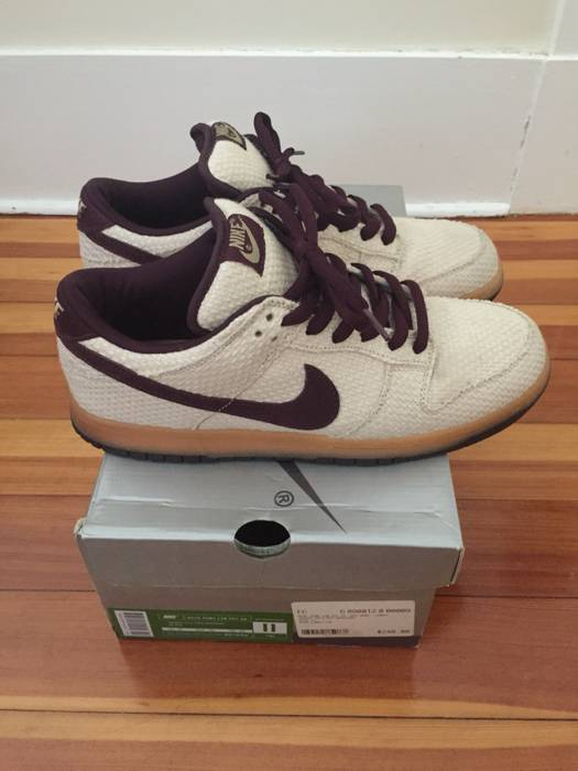 buy popular e8bac 3d720 Nike. Nike SB Mahogany Hemp Dunk Low. Size  US 11 ...