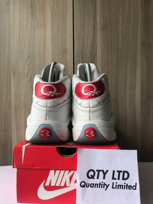 a44a5097326 Reebok Question 1 Red Size 11.5 - Hi-Top Sneakers for Sale - Grailed