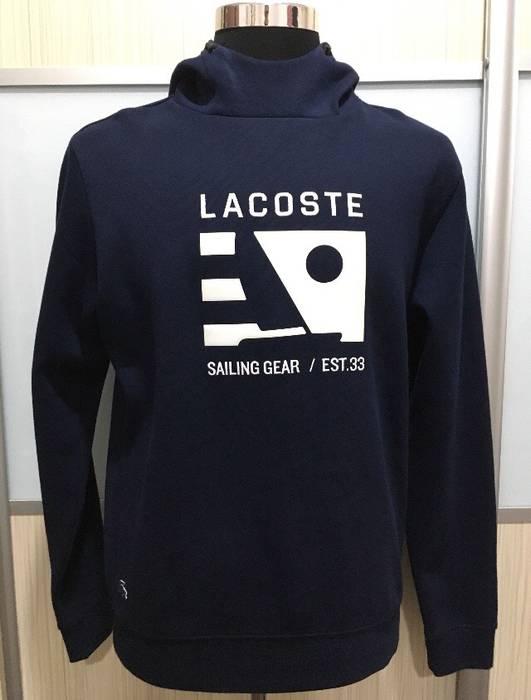 090bc15dc Lacoste Lacoste Men s Long Sleeve Nautical Logo Hoody SH9600-51 Size 4 (M)