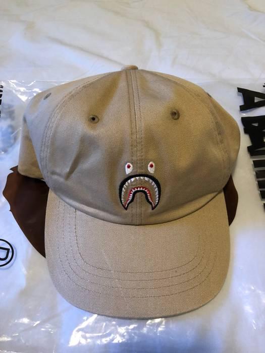 e436c6982f1 Bape Bape A bathing Ape shark Tan Dad Hat WGM Size one size - Hats ...
