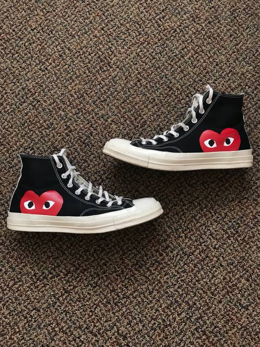 ab6ccb5106ef Converse Comme des Garcons Play Chuck Taylor All-Star  70 High-Top Sneakers