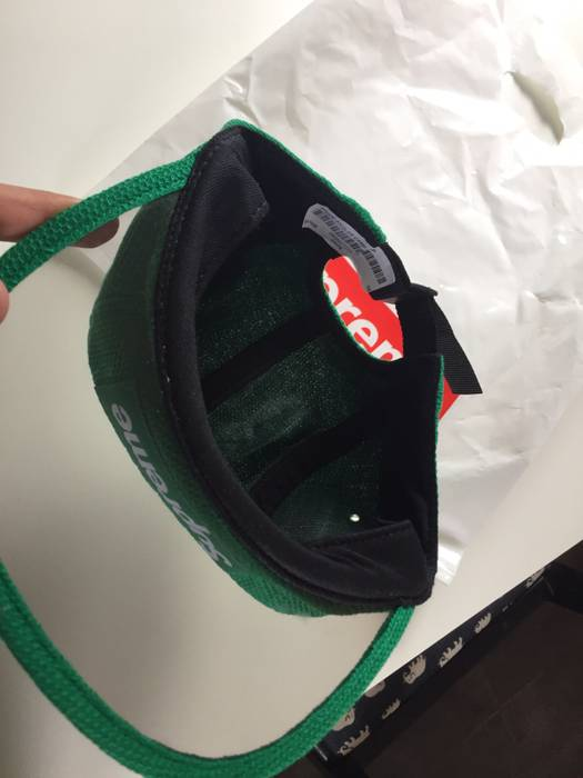 4b229fcfd69 Supreme Supreme Pique Angler Camp Hat Green Size one size - Hats for ...