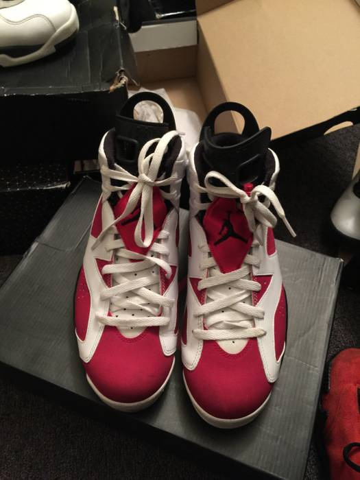 952d4ba4f21b73 Jordan Brand Retro Jordan 6 Carmine Size 10 - Hi-Top Sneakers for ...