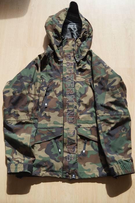 72acac4aa4c Bape Bape x Mastermind Japan Gore-Tex Snowboard Jacket Size US L   EU 52