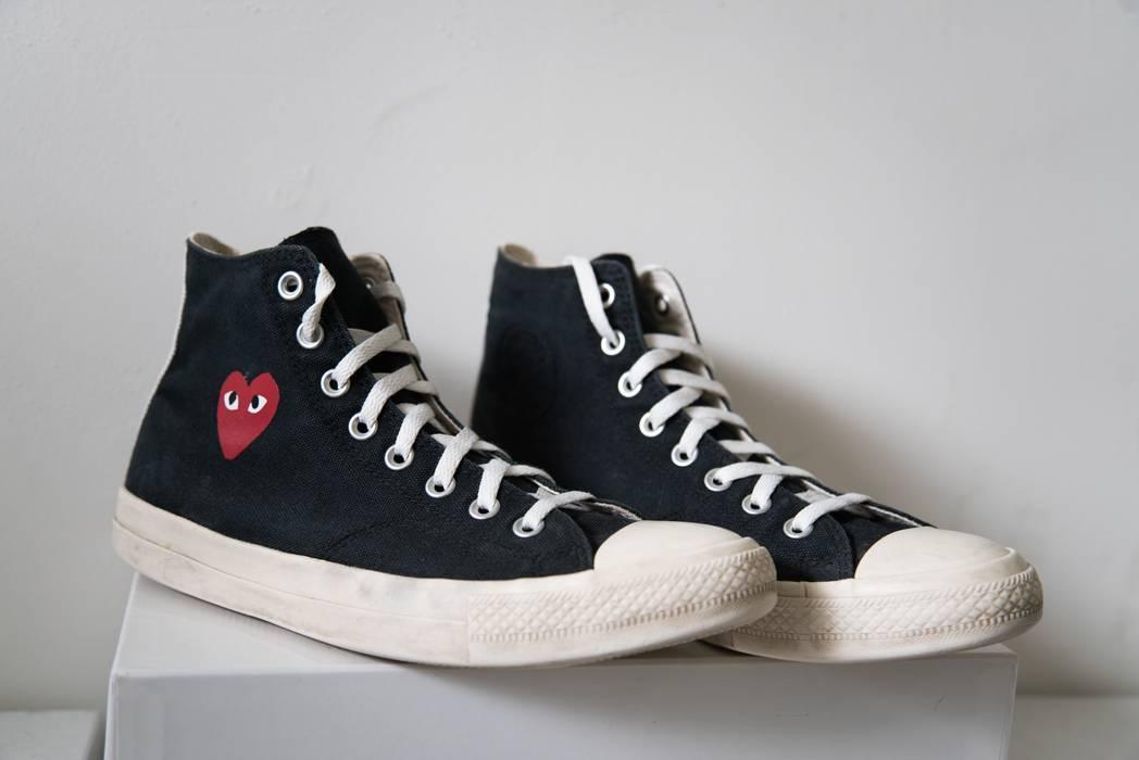 12938f71a6f1 Converse CDG Play Black Converse Hi-Tops Size 9 - Hi-Top Sneakers ...