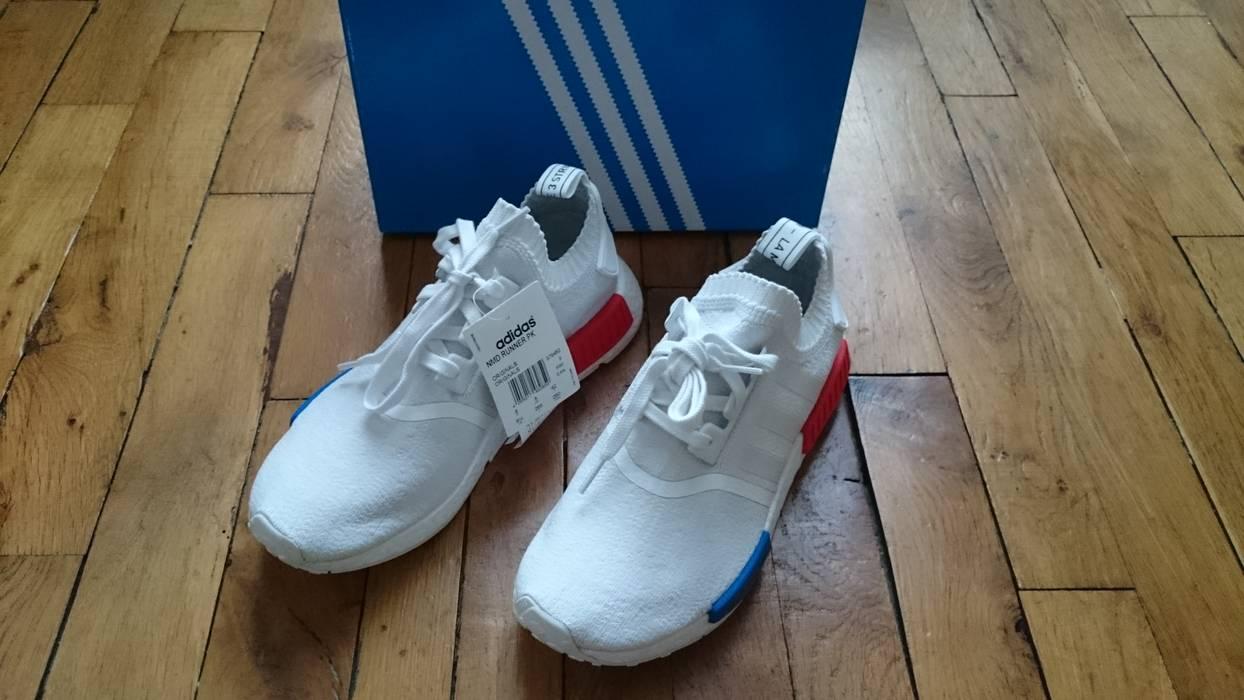 55ef724df9d Adidas Adidas Nmd R1 PK Primeknit Og White Size 8