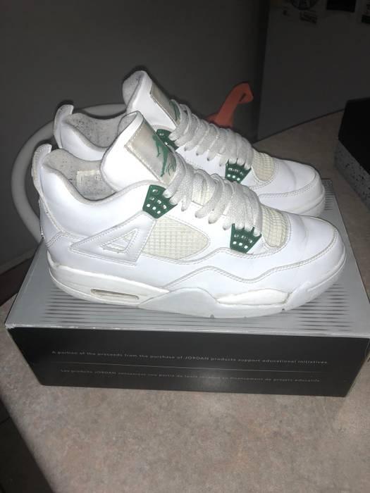 c9bbc1a98acfc5 Jordan Brand 2004 Classic Green 4 s Size 9.5 - Hi-Top Sneakers for ...