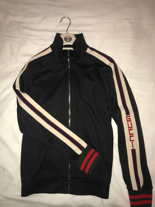 57e0ef10cff Gucci Gucci track jacket Size l - Sweaters   Knitwear for Sale - Grailed