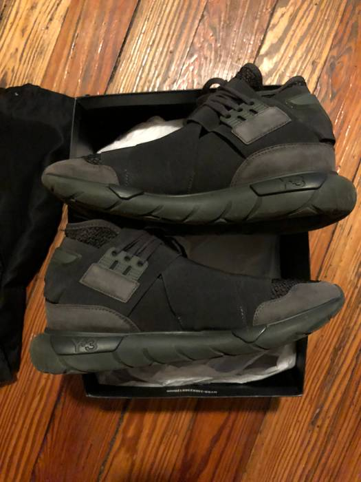 0d1852c0e Y-3 QASA High Y-3 - Black Olive Size 9 - Hi-Top Sneakers for Sale ...