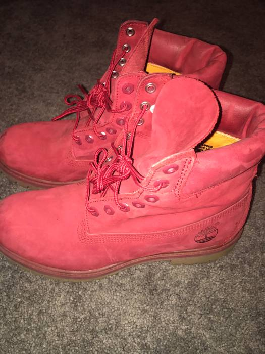 Timberland Red release collection limited release Size 9 - Boots for ... 78da641e7