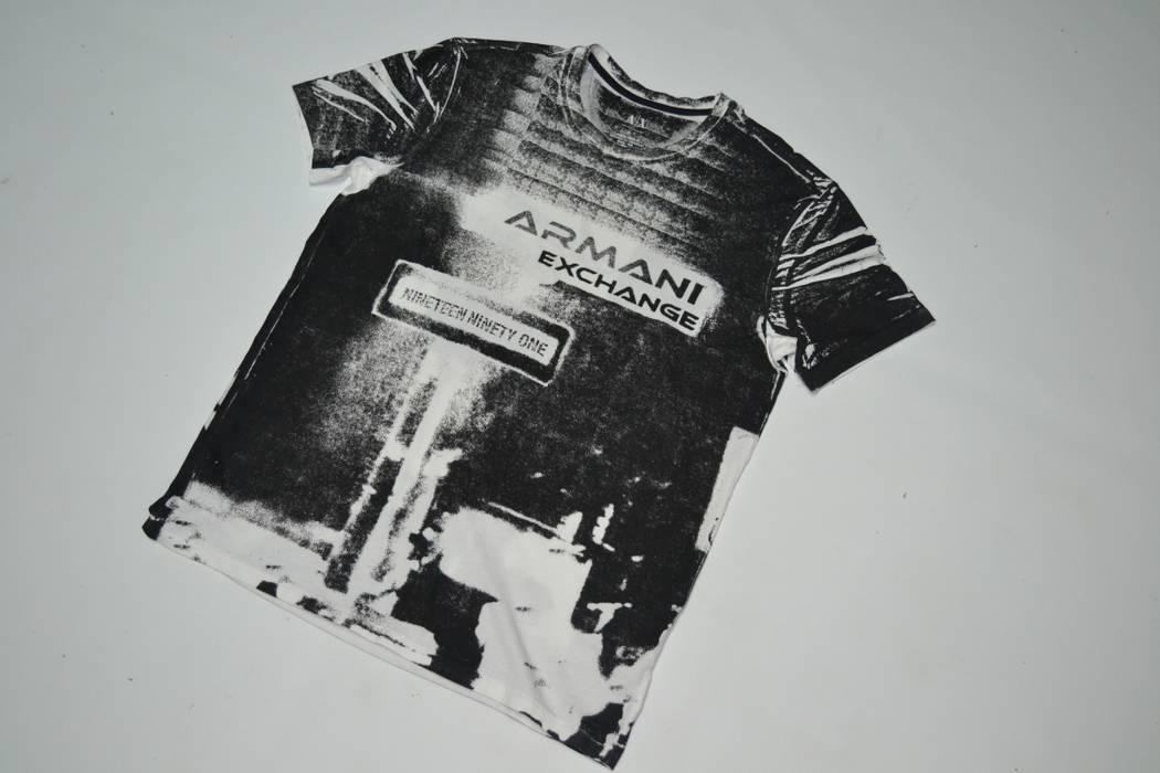Armani Exchange VTG AX All-over Print Vintage Style T Shirt size Large  Armani Exchange 17367bdb93c