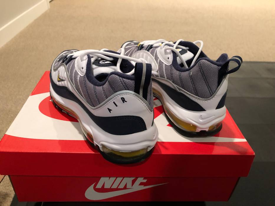 Nike Air Max 98 Tour Yellow Size 10 - Low-Top Sneakers for Sale ... 756bac6fe