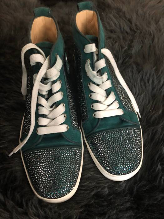 5cf414ba701 Christian Louboutin Christian Louboutin strass sneakers Size 7.5 ...