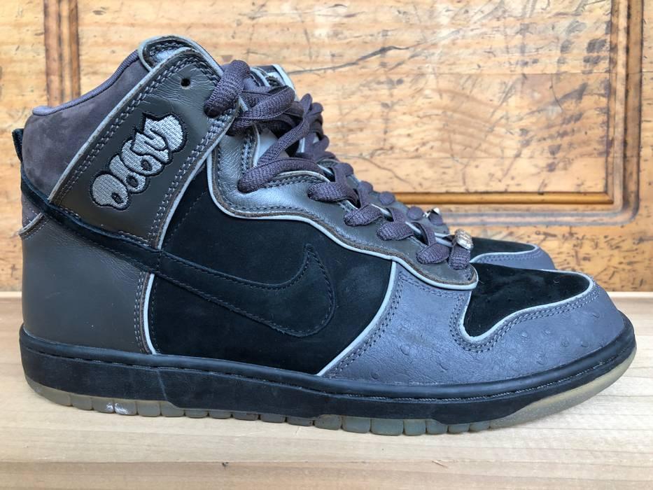 Nike Nike Dunk High Premium SB  MF Doom  - Black Midnight Fog Size ... 504b9e4a9e07