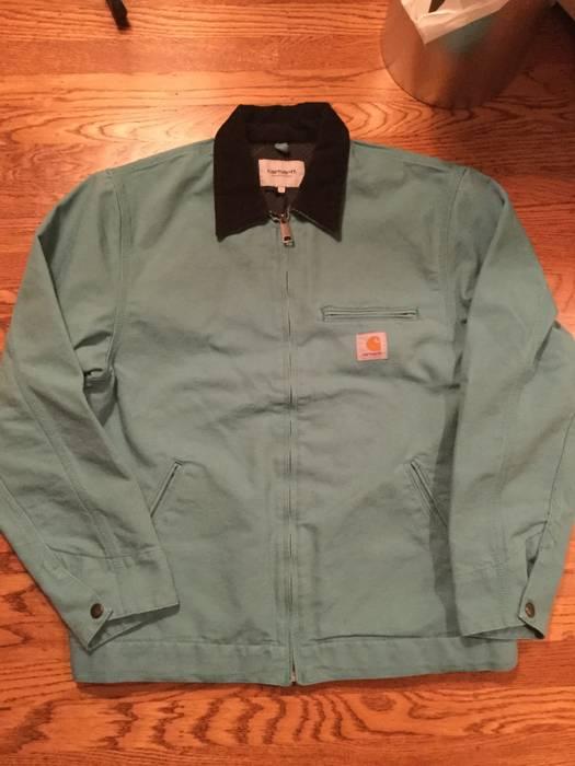 c491f223e4ee8 Carhartt Wip Carhartt Wip Detroit Jacket Soft Teal Size l - Light ...