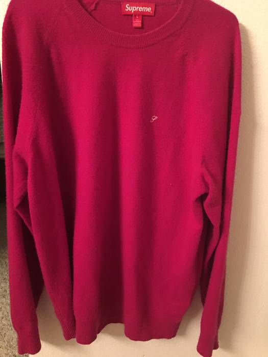0910506db28c Supreme Supreme Cashmere Pink Sweater Size l - Sweaters   Knitwear ...