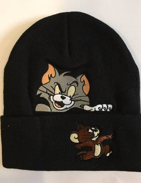 807f9519287 Supreme Tom And Jerry Beanie Size one size - Hats for Sale - Grailed